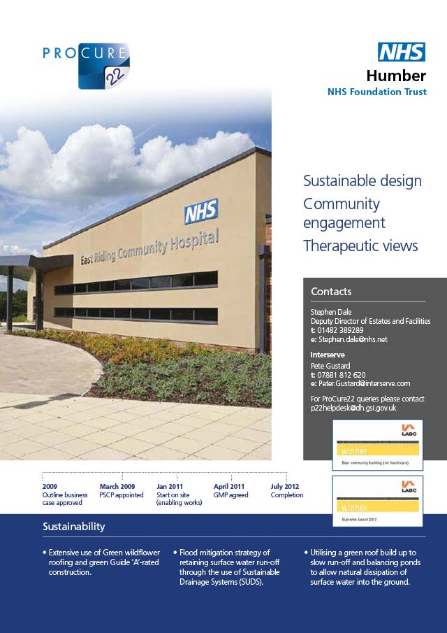 East Riding Community Hospital, Humber NHS Foundation Trust