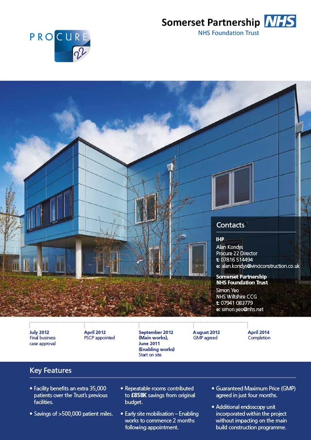 Attractive ... Bridgwater Community Hospital, Somerset Partnership NHS Foundation  Trust ...